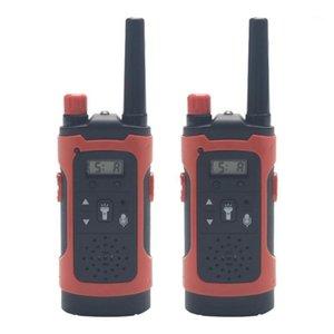 Mini 80-100m Enfants Walkie Talkies Toy Child Électronique Voile Voice Interphone Jouet Toy Extérieur LCD Display Walkie Talkies1