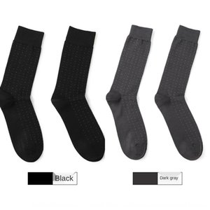 Ben MyColor algodón mercerizado puntea calcetines suaves de los hombres de negocios de algodón mercerizado calcetines de hombre HHLWc