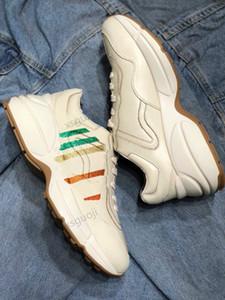Gucci shoes Design a triplo multi-lusso Low New Product Product Sneakers Combinazione Sole Stivali da uomo da uomo Scarpe da corsa da uomo Scarpe casual da uomo di alta qualità