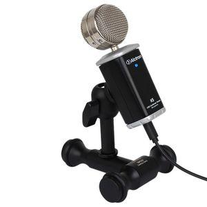 Hot-Alctron K5 Professional USB Microfone Condensador Estúdio Conversando o Recording Condensador Mic para PC portátil