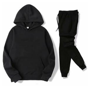 Adam Tasarımcılar Giysileri 2020 Tasarımcı Eşofman Erkekler Bayan Hoodies + Pantolon Erkek Kazak Kazak Rahat Tenis Spor Eşofman Ter Suits