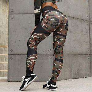 Workout Leggings Women Print Fitness High Waist Leggings Elastic Push Up Trousers Fashion Female Slim Sexy Pant Plus Size
