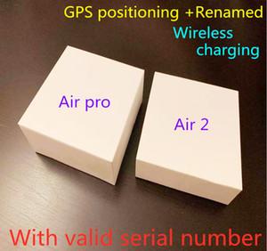 에어 겐 3 AP3 H1 칩 투명성 금속 힌지 무선 충전 블루투스 헤드폰 PK 포드 2 AP Pro AP2 W1 이어 버드 2 세대