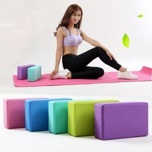 US STOCK, DHL EVA Yoga Blocks Bricks High Density Foaming Foam Home Exercise Fitness Health Gym Stretching Aid Body Shaping Training FY6038
