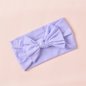 6European and American children's cute headband, baby hair accessories, super soft nylon bow headband headband wholesale6