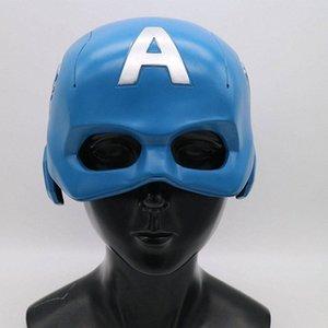 Латекс шлем для взрослых Superhero Маски Фильм Косплей костюмы Реквизит Superhero тему Halloween Party украшения m40V #