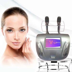 VM Max HIFU Ultrasound Séjoral anti-rides de la machine Vmax Serrer la peau Lifting Therapy Therapy Dispositif de beauté avec 2 cartouches CE