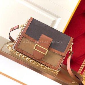 Модные дизайнеры Crossbody 2020 Luxurys High плечевые клапаны кожаные качественные женские маленькие сумки сумки DJRR сумки подлинный изящный беспорядок P NTTU