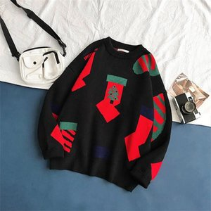 new mens designers sweaters luxury embroidery Mens Sweater jacket jacquard pullover male sweater Man Designers Clothes 2020