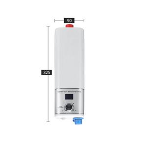 FreeShipping 5500W Elektrikli Şofben Mini Anında Tankless Su Isıtıcı Kapalı Duş Mutfak Banyo Şofben Sıcaklık Kontrolü