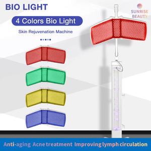 Портативный светодиодный инфракрасный свет терапия эстетическое оборудование лица угри удаление П.Д. т водить машину светотерапии с инфракрасной лампой