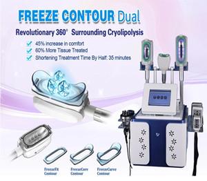 Multifonction portable 360 Fat degré de congélation de refroidissement Cryolipolysis Machine minceur Double Chin Réduire Équipement de beauté