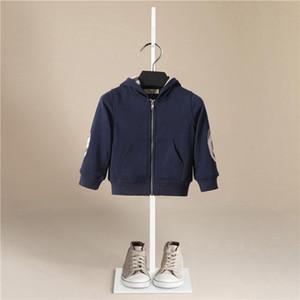 2020 autunno inverno nuovo stile bambini bambini inverno cotone spesso paul caldo con cappuccio bambini ragazzo sport giacche moda agente di moda baby cappotto LJ201007