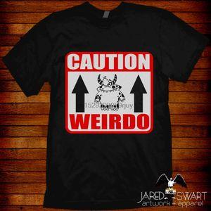 Weirdo Weirdo Monster ¡Cuidado! Diseñadores camiseta de los hombres con capucha gráfica
