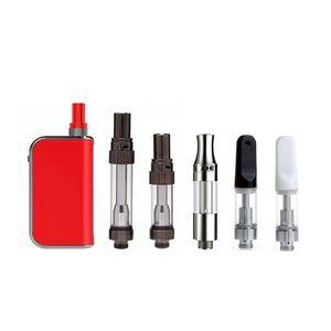 Komodo C5 kit Built-in 400mAh Preheat Battery Vape Box Mod with itsuwa 1.0ml V1 DHL free