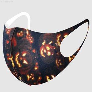 Xmas Helloween Рождественские маски снежинки тыква плед олень рот крышка напечатанные лица маски моющиеся мультфильма антитума