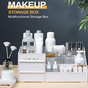Makeup Drawer Organizer Desktop Cosmetic Storage Box Large Capacity Makeup Container Jewelry Nail Polish Sundries Storage Box Free DHL