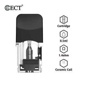 OEM ODM E-cigarette ECT Robin pod Cartridge 2*1.2mm holes size Pod System Atomizer Vaporizer for vape mods