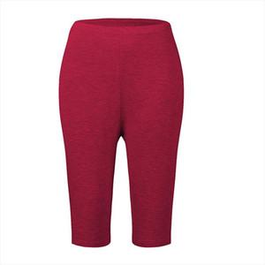 Plus Size Bamboo Fiber Leggings Elastic High Waist Leggings Workout Push Up Fitness Legging Summer Short Big Size 7xl