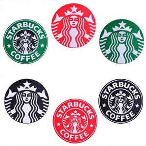 Silicone Coasters Cup Thermos Cushion Silicone Coasters Thermos Cushion Holder Starbucks Sea-maid Coffee Coasters Cup Mat Starbucks Cup Mats