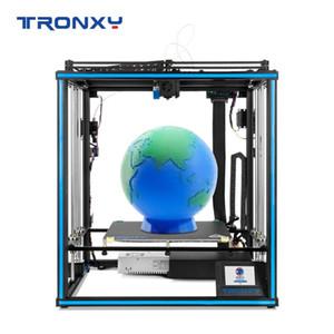 Auto Printer Tronxy X5SA-400-2E 3D livellamento Filament sensore indipendente Bowdon doppio Titan estrusore Corporatura larga piastra 400 * 400 millimetri