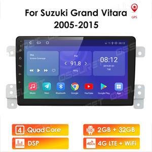 4G LTE für Suzuki Grand Vitara 3 2005 - 2015 Autoradio Multimedia Video Player Navigation GPS Android 10 2 DIN NON DVD