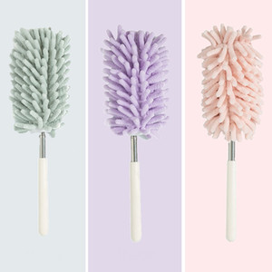 Dust Removal Feather Dusters Handle Extendable Cleaning Soft Cleaning Brushes Portable Home Bedroom Car Cleaning Tool