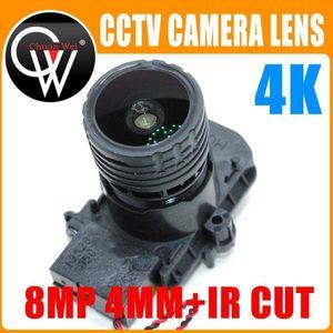 F0.95 M16 Focal 4K HD 4mm Lens 8MP 1 2.7