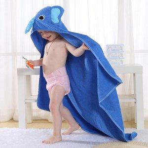 2020 Spring and Summer New Children's Cotton Bathrobes Cute Modeling Baby Bath Towel Cloak Bathrobe