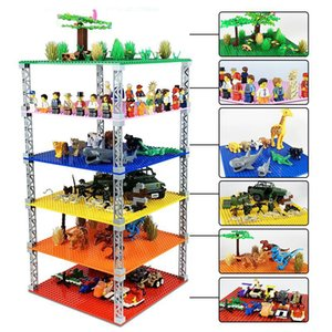 32*32 Dots Double-sided Stackable Base Plate Plastic Small Bricks Baseplate classic dimensions Building Blocks Construction Toys