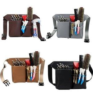 Professional Barber Scissors Bag Pacote de cintura Bolsa de cabeleireiro Hair Salon Ferramenta Q1104