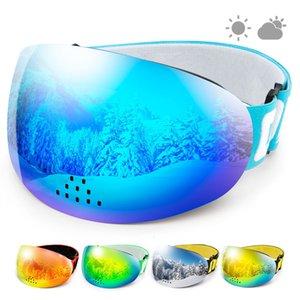 70% de rabais Copozz Professionnel Copozz Protection UV400 Protection contre les lunettes de snowboard anti-brouillard Nasal Ski
