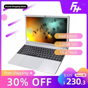 Funhouse 15.6-Inch Ultra-Thin Business Laptop Portable Internet Customization Laptop USB3.0 USB2.0 128GB SSD 15.6
