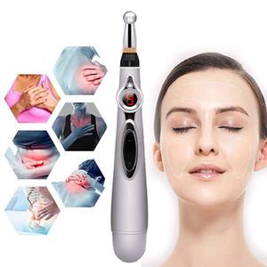 Acupuncture électronique Pen électrique Méridiens Laser Therapy Massage Guérir Pen Meridian Energy Pen Soulagement de la douleur Outils DWE2208