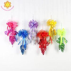 2019 нового шишка Bow творческих украшений accessoriesButterfly украшения 2019 новый шишка лука креативного украшение рождества P