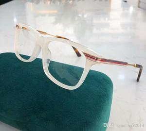 Newarrival Marka kaliteli G05240 tam set vaka toptan gözlük reçete için çerçeve tahta + metal şerit tasarımı tapınak 54-17-140 gözlük