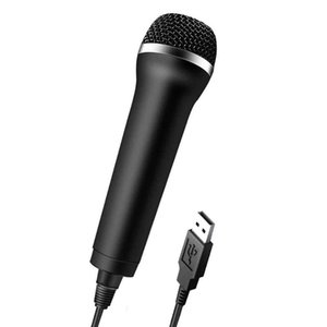 Universal USB Wired Microphone Karaoke Mic for PlayStation 4 PS4 Switch Wii Xbox PC High-performance Game Microphone