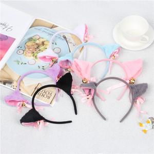 1 Pair Hairpins Hair Clips for Girls Bell Cat Ears Korean Hair Clip Women Cosplay Halloween Party Barrettes Hair Accessories