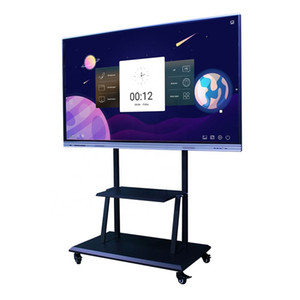 75inch screenSmart LCD interactive touch screen interactive blackboard whiteboard smart school board tv touch screen 100inch 120