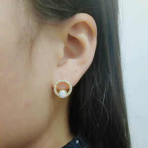 Hot Selling 925 Silver Earrings Women Jewelry Fire Opal Stud Earrings Engagement Wedding Jewelry For Gift