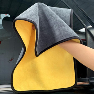 Car Washing Towel Super Absorbent Cleaning Cloth Microfiber Towel Car Maintenance Polishin Home Cleaning Towels 30*60