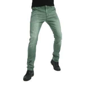 Fratello Wang Brand New Men's Elastic Jeans Fashion Slim Skinny Jeans Pantaloni casual Pantaloni Jeans Male Green Black Blue 201123