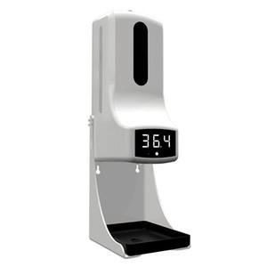 Новый 2 в 1 бесконтактный инфракрасный термометр с автоматическим диспенсером мыла K9 Pro Shanitizer