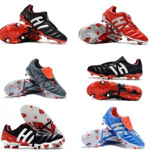 Sıcak Erkek Futbol Ayakkabıları Moda Predator 20 + Mutator Mania Tormentor FG Futbol Cleats Predator 20 Futbol Çizmeler Botas Boyutu 6.5-11