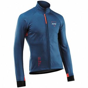 2019 Northwave Jersey Toison thermique d'hiver Pro NW équipe VESTE Faire du vélo Réchauffez VTT Vélo Vêtements Vêtements de sport TvZx #