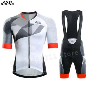 New 2020 Cycling Clothing Short Sleeve Jersey Set pro Road Bike Short Clothes Summer Bicycle Triathlon Skinsuit Cycle Shirt