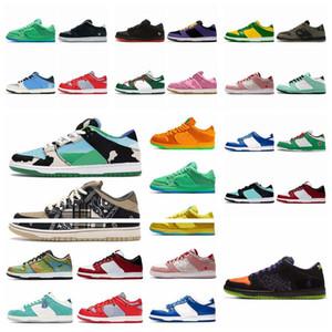 2021  nike sb  SB جديد مايك مكتنزة تحت رشم الاحذية حذاء منخفض أصيلة الحذاء SP البرازيل ممتنة ميت دونك رجل إمرأة مدربين الرياضة 36-45 88DA4D