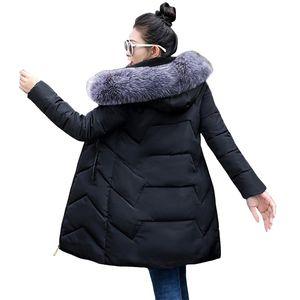 6XL 7XL Plus Size Women Parkas Big Fur Winter Hooded Long Down Jacket Female Coat Thick Warm Winter Jacket for Women New 201210