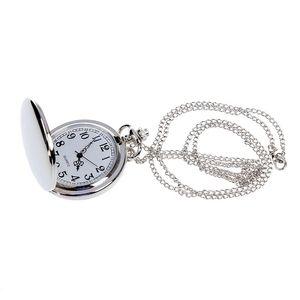 Relojes de bolsillo únicos Vintage Mens Lady Análogo Reloj Analógico Collar Colgante Cadena Lindo Regalo
