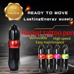 Yeni Roket Kalem Motor Döner Makine Uzay Alüminyum Kartuş Tattoo Gun Ekipmanları 201112